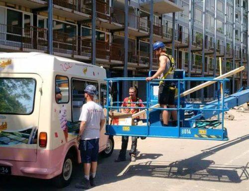 Harde werkers, ijsje verdient